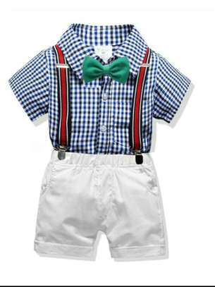 Kid's T-shirt And Short Trouser