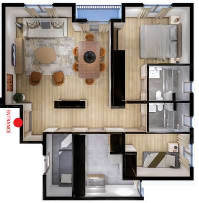 2 bedroom modern apartment for sale image 1