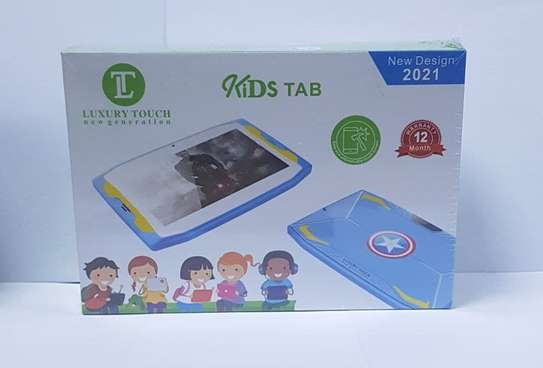 2021New Design Luxury Touch Kids Tablet image 1