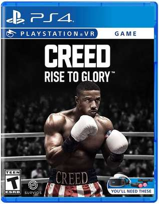 PS4 VR boxing game