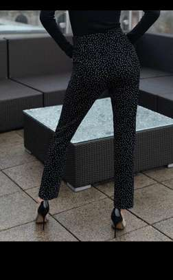 Elegant Dot Pants