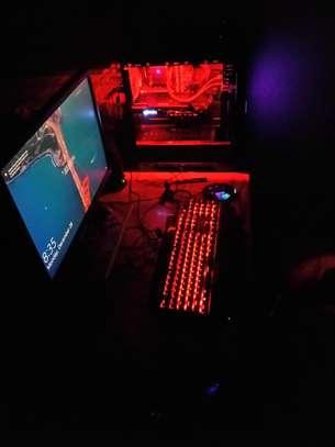 Gaming Desktop Computer with GTX 1080 Graphics Card image 1