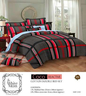 Cotton Bed Sheet 3 Pcs Set