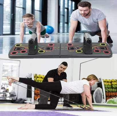 Multifunction Push-up Stands For GYM Body Training image 6