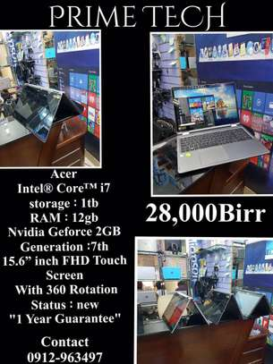 Acer intel Core i7 7th Generation