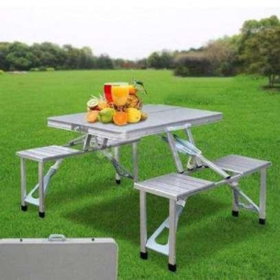 Folding Picnic Table (Aluminium) image 3