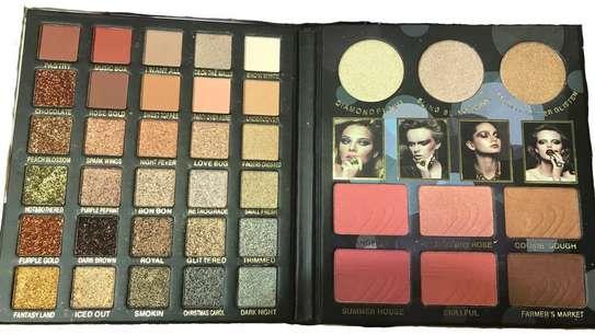 6 Blush 3 Glazes 30 Eyeshadows In One Palette