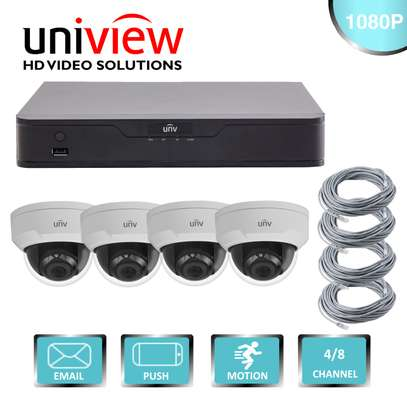 Uniview 4 Channel IP Camera Kit