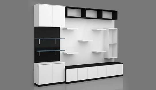 Office Shelf With Cabinet