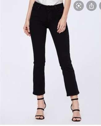 Black Color Jeans For Ladies