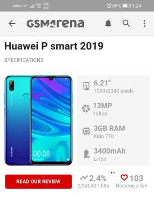 Huawei P Smart  (For Exchange Only)