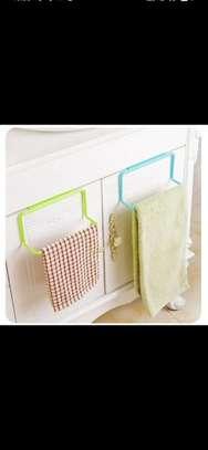 Kitchen Towel Rack Hanging Holder image 1