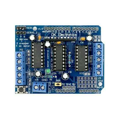 L293D Motor Drive Shield Dual for Arduino Duemilanove, Motor Drive Expansion Board, high quality image 1