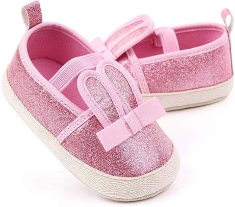 Baby Girls Warm Slippers Cartoon Cat Non-Slip Home Indoors Shoes
