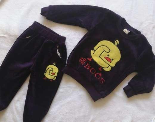 2 Pcs Baby Clothes Set image 1