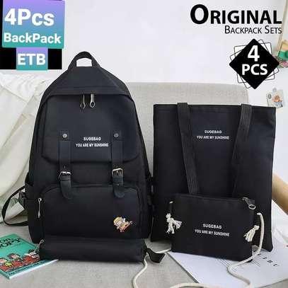 4pcs  Backpack image 1
