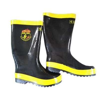 Anti-Slip High Temperature Resistant Rubber Fire Fighting Safety Boots