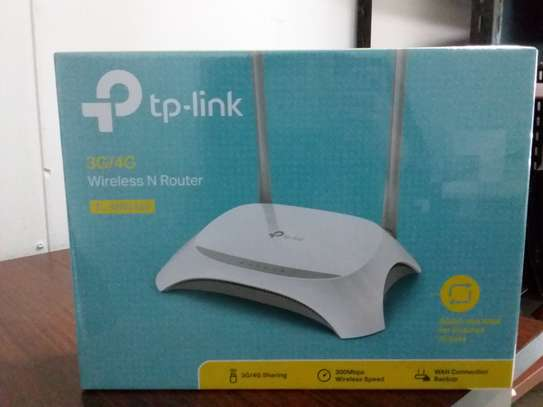 Tp-link 3G/4G Wireless N Router TL-MR3420 image 1