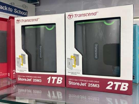 Transcend 1TB shock Proof External Hard Disk image 1