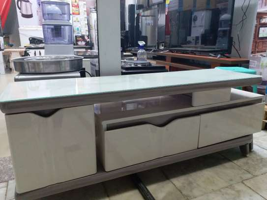 TV Stand(Full Tempered Glass )