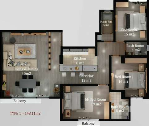 Luxury Apartment For Sale image 5