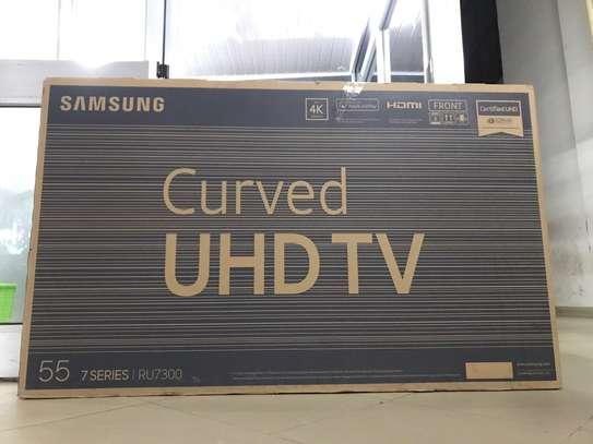 "55"" Samsung UHD Curved TV image 1"