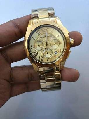 Golden Men's Watch image 1