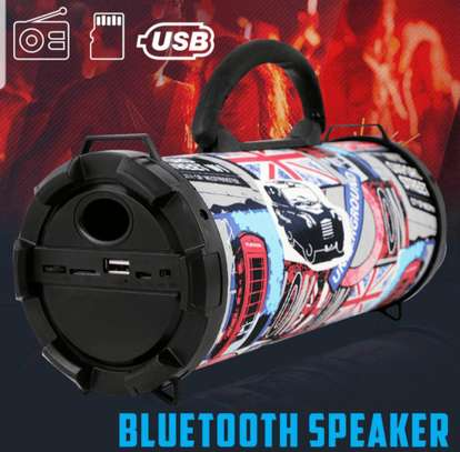 Fashionable Rechargeable Bluetooth Speaker image 1