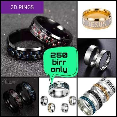 2D Rings(Zinc Coated) image 1