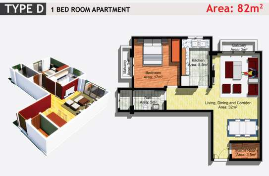 JAMBO REAL ESTATE 1 & 2 BEDROOM APARTMENT image 2