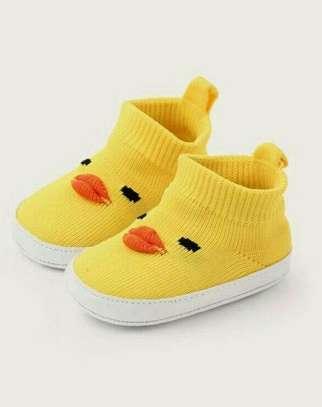 Yellow New Fashion Kids Shoes