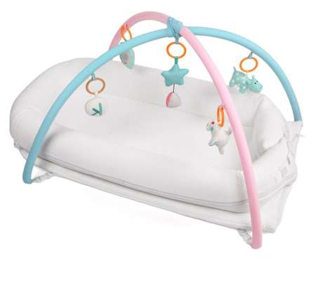 Baby Carry Bed with Play Gym image 1