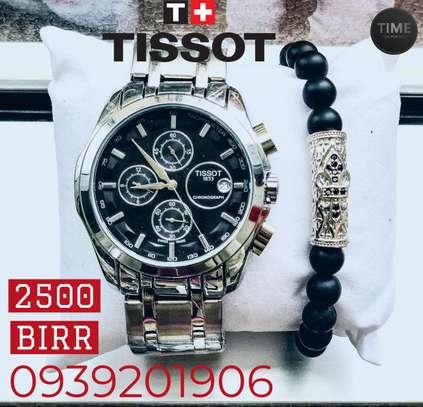 Tissot Men's Watch + Bracelets