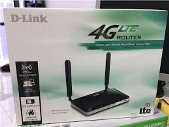 D-link  4G LTE Wifi Router image 1