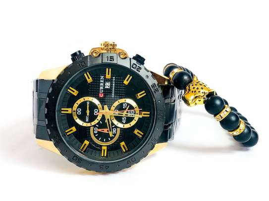 Curren Chronograph Watches image 3