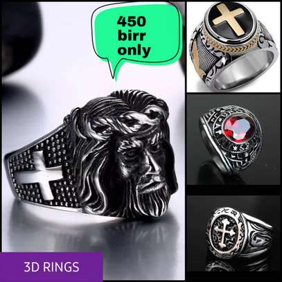 3D Rings(Zinc Coated) image 1