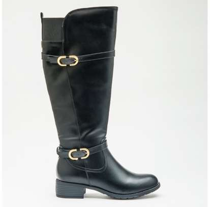 Womens Black Knee High Long Boots Single or Batch Sale Available