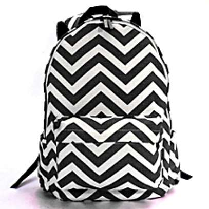 US Travel Women Cute Canvas Satchel Backpack image 1