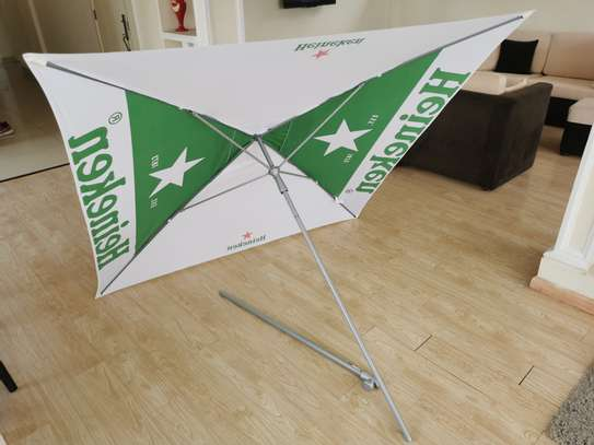 Heineken terrace garden beach umbrella