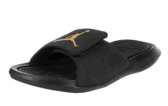 wholesale dealer a38ba 2b582 Black Jordan Sandals