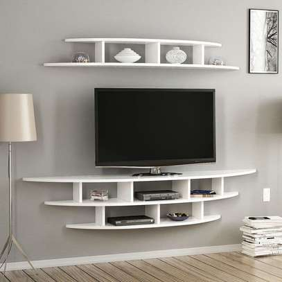 Wall Fixed TV Stand image 1