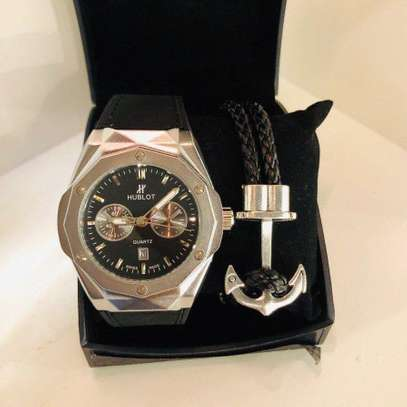 Hublot Watch and Bracelet