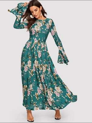 Assorted Colors Floral Dress