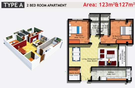 JAMBO REAL ESTATE 1 & 2 BEDROOM APARTMENT image 5