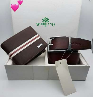 Belt &  Wallet  Set