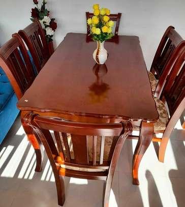 Alpha Furniture Dining Table 6 set image 2
