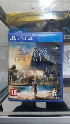 ps4 game original CD assasins creed