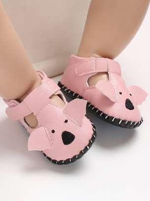 Light Pink Baby Walking Shoes