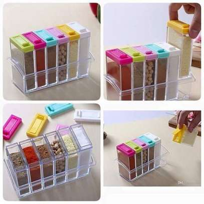 6 Piece Small Container With Tray image 1