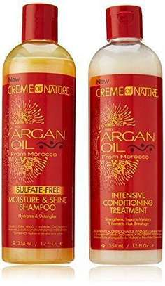 Argan Oil shampoo and Conditioner